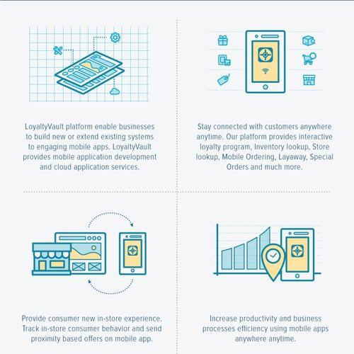 Create Infographic for LoyaltyVault, LLC