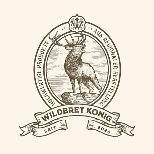 Logo design for Wildbret König