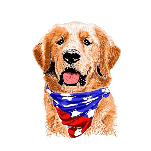 Patriotic Dog Lover