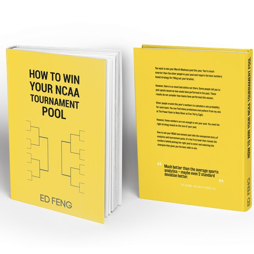 How to win your NCAA tournament pool - book cover contest