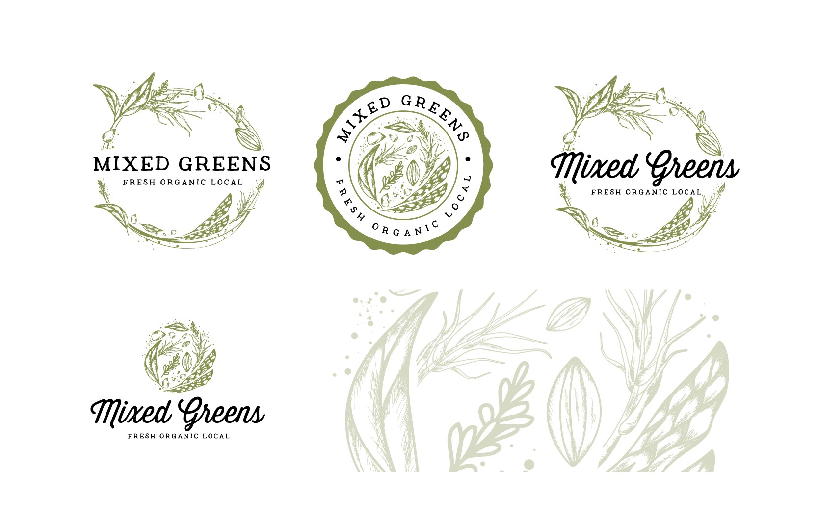 Design a hip logo to attract a healthy eating organic loving crowd