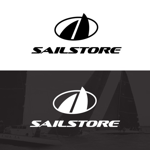 Logo for sailing products store