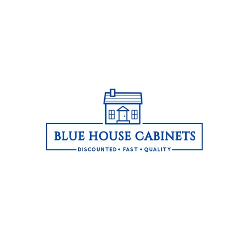 Logo fo blue house cabinet