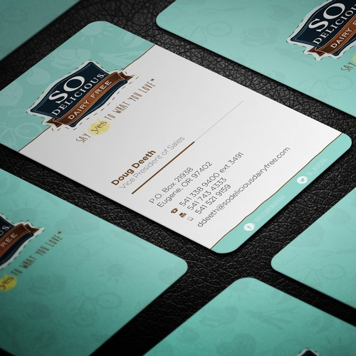 Design New Business Cards and Letterhead for Leading Consumer Products Co.