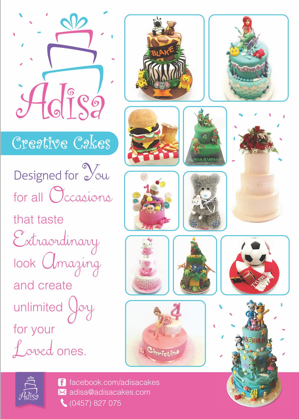 Adisa Cakes Flyer