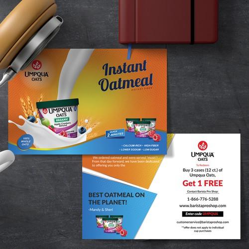 Oatmeal Post Card