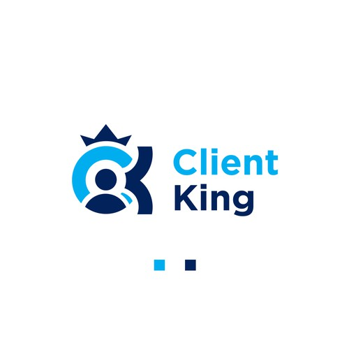Hipster logo for Client King.