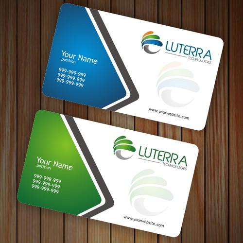 Create a company logo for Luterra Technologies.