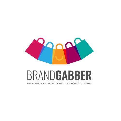 BrandGabber logo design