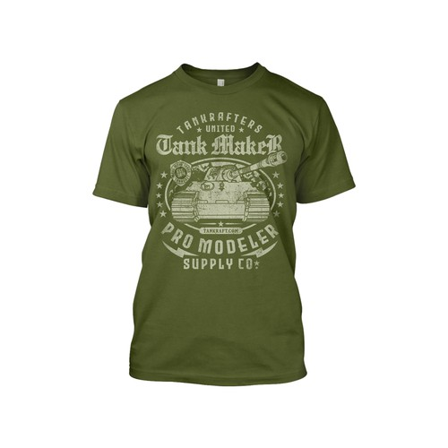 Tank Maker T-Shirt Design