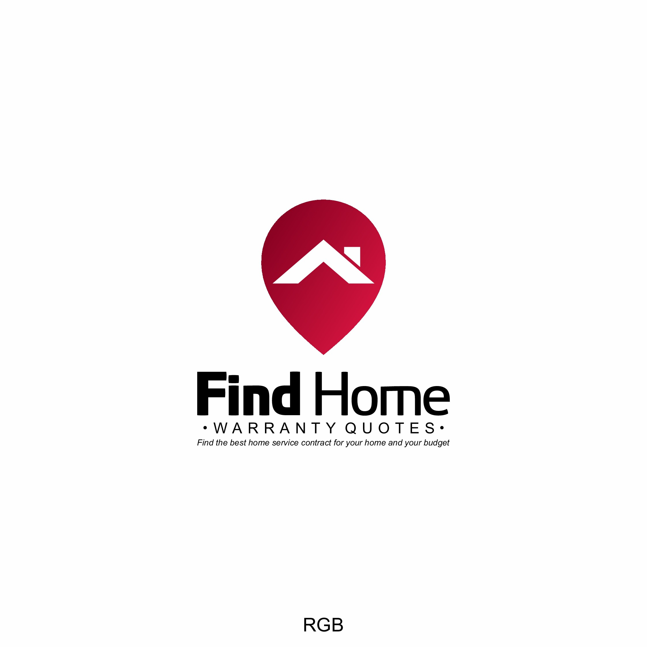 Design a logo that pops for a homeowner services landing page.