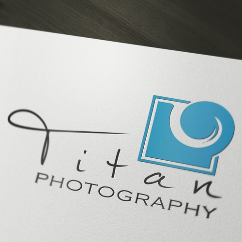 Logo for Titan photography