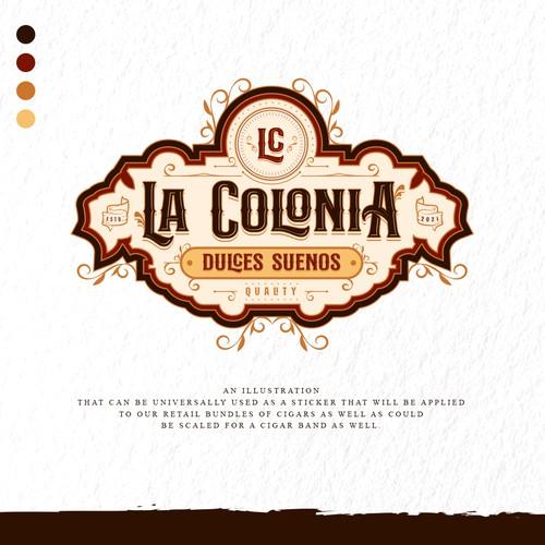 Old World Cigar Brand Design