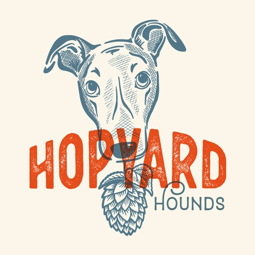 Greyhound + Brewery logo