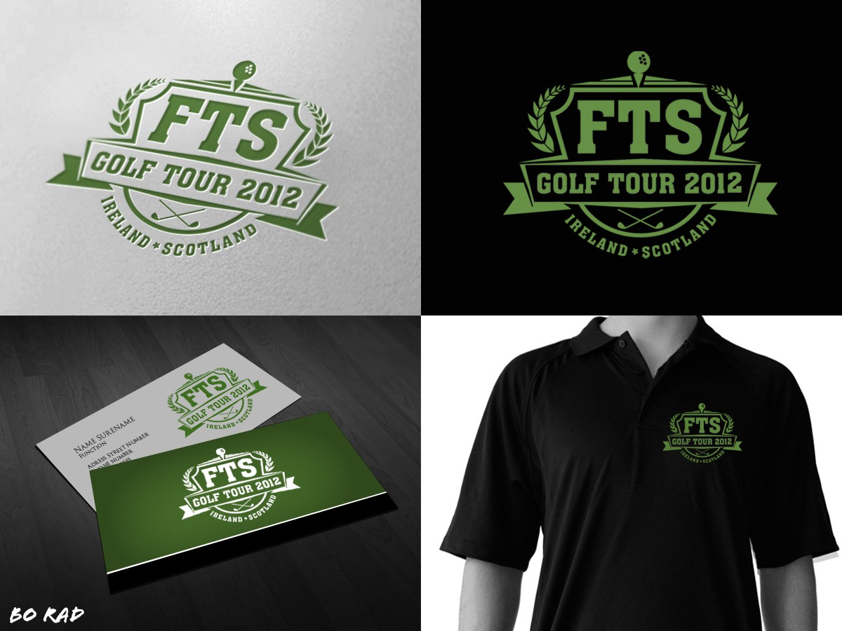 Help FTS Golf Tour 2012 with a new logo