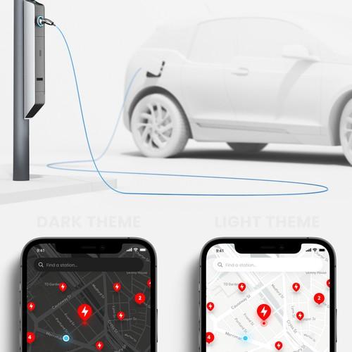 Tesla Charging Point App