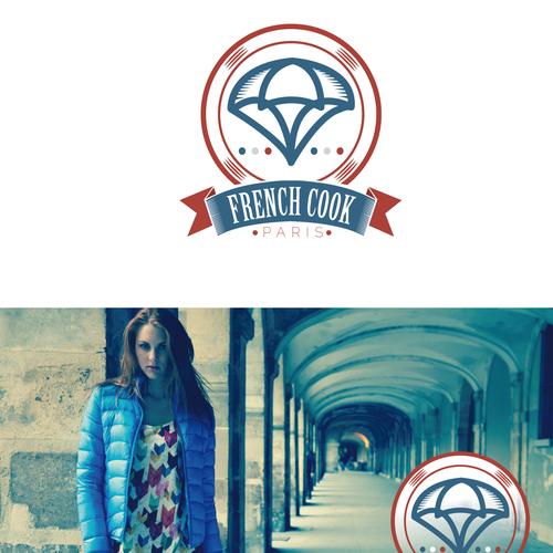 Refonte logo marque de prêt à porter French cook