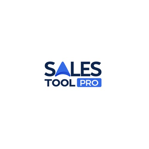 Abstract Modern Professional Sales Software Logo