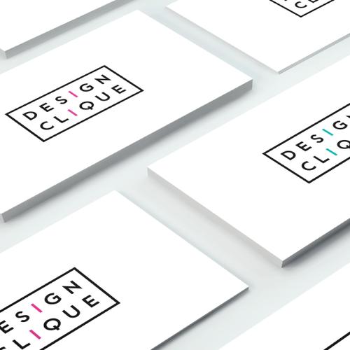 ''Design Clique'' Logo