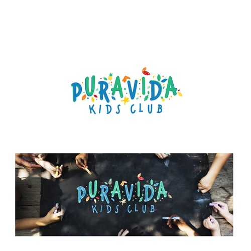 Puravida Kids Club Logo Design