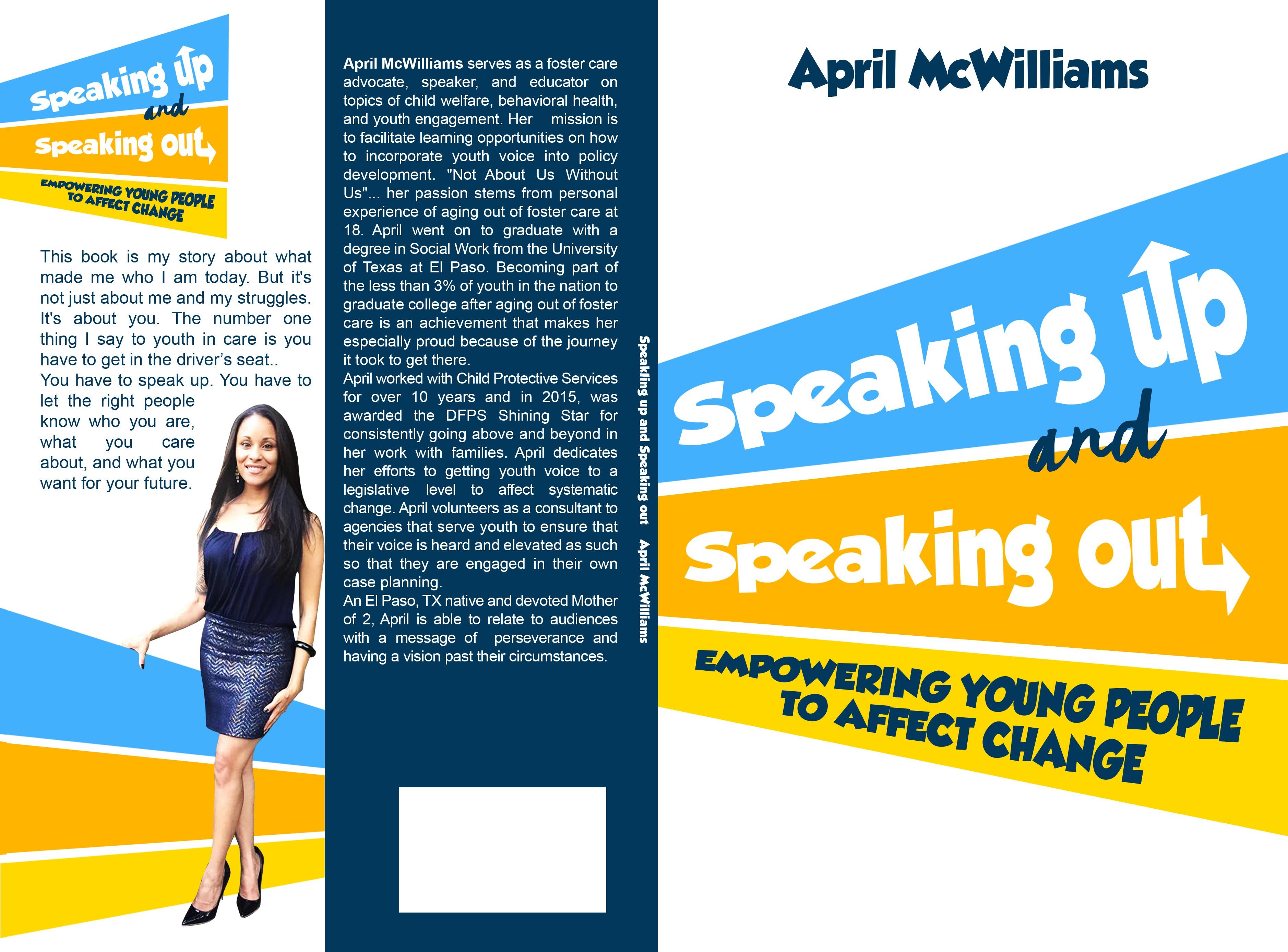 Speaking Up Motivational Book!