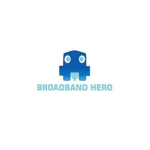 Small Robot Head Logo