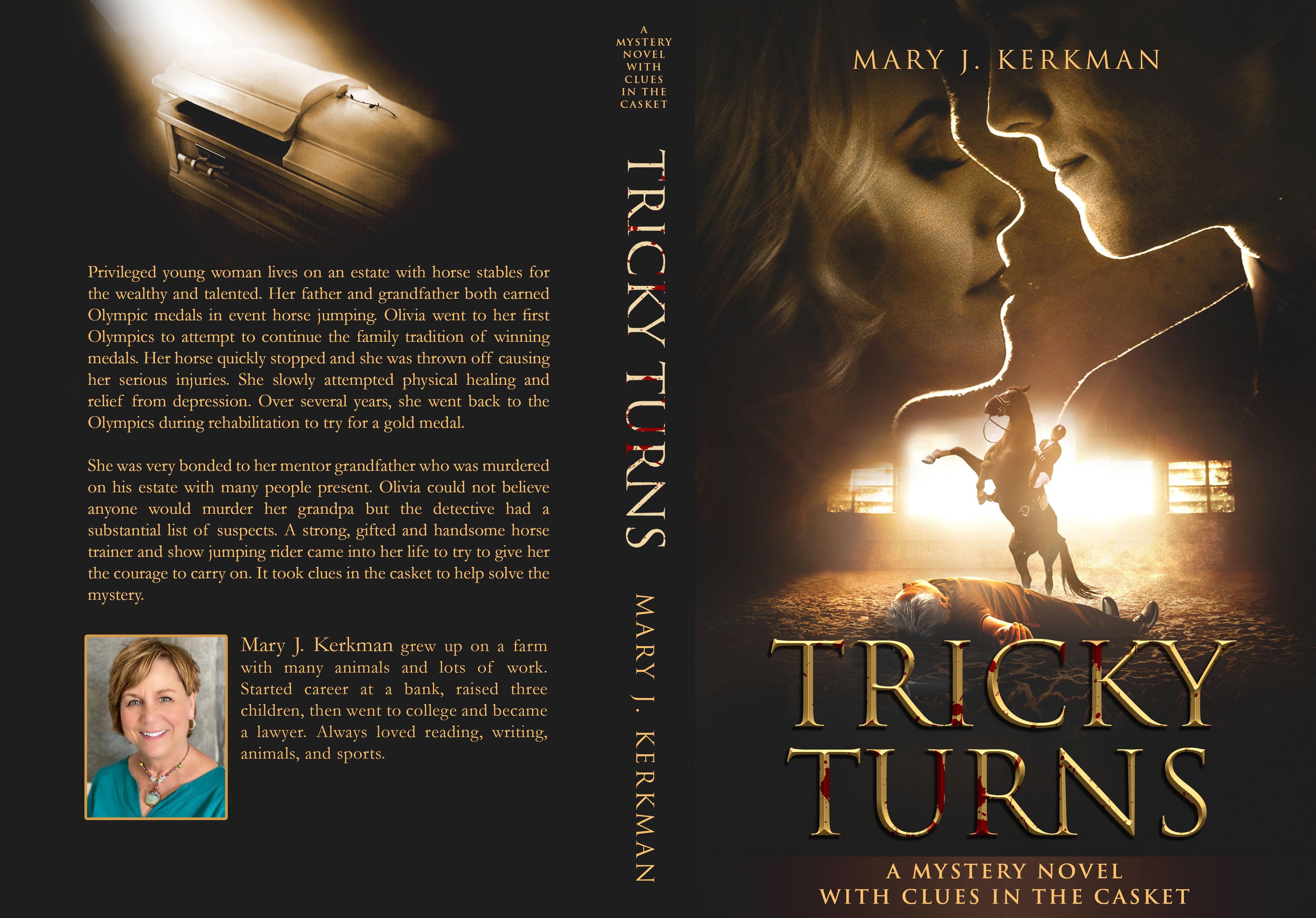 Tricky Turns mystery/romance novel contest