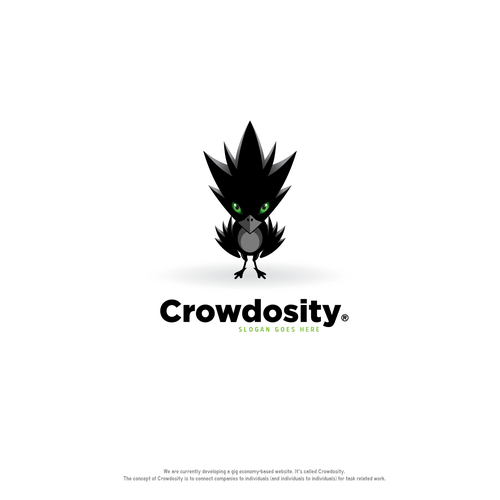 Crowdosity logo design