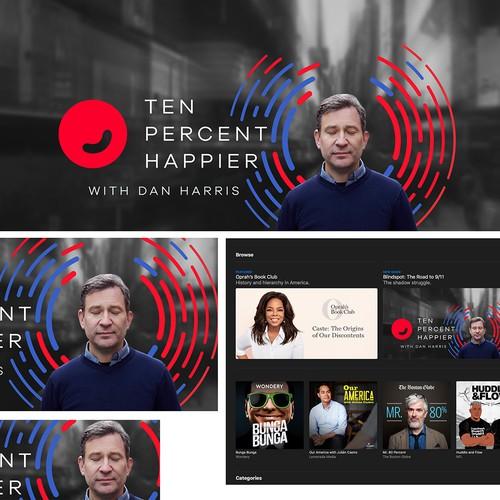 10% Happier Podcast Promotional Artwork