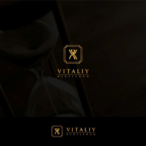 The concept of an hourglass with an initial VK