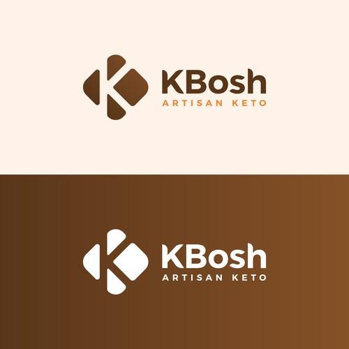 Logo design for KBosh Artisan Keto
