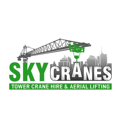 Storytelling logo for crane services