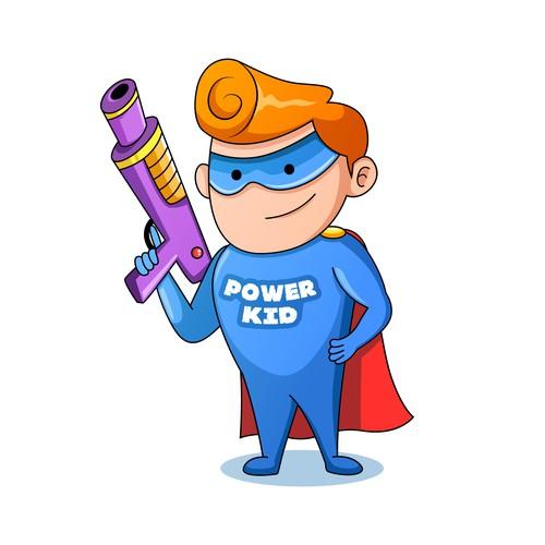 Power Kid Mascot