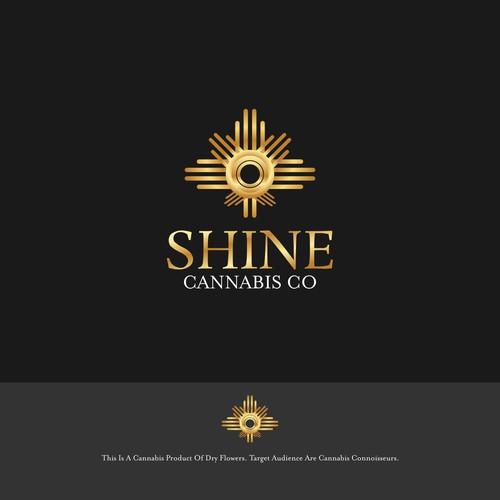 Gold Cannabis Logo