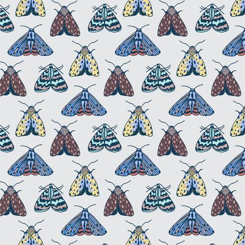 Moth pattern design