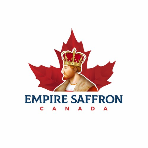 Powerfull Logo for Empire Saffron