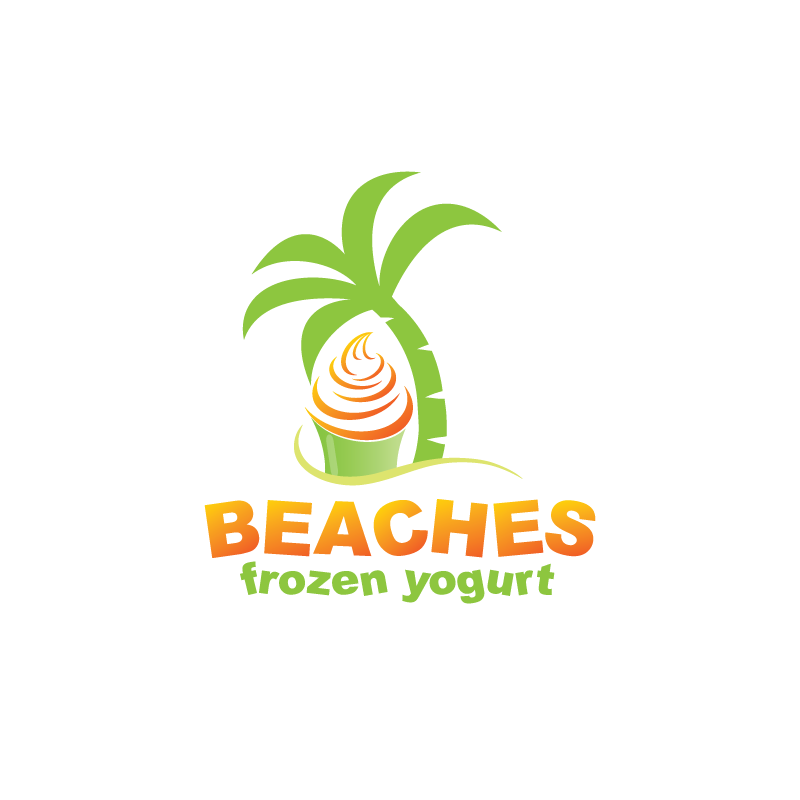 logo for Beaches Frozen Yogurt