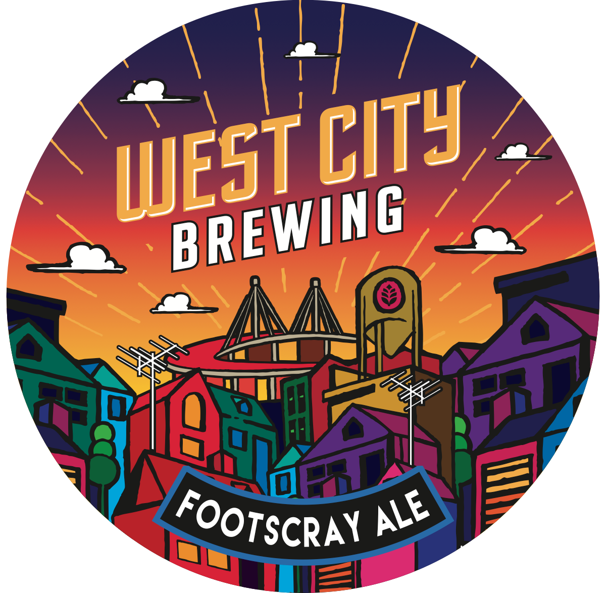 Smal redesign of Footscray Ale label and decal