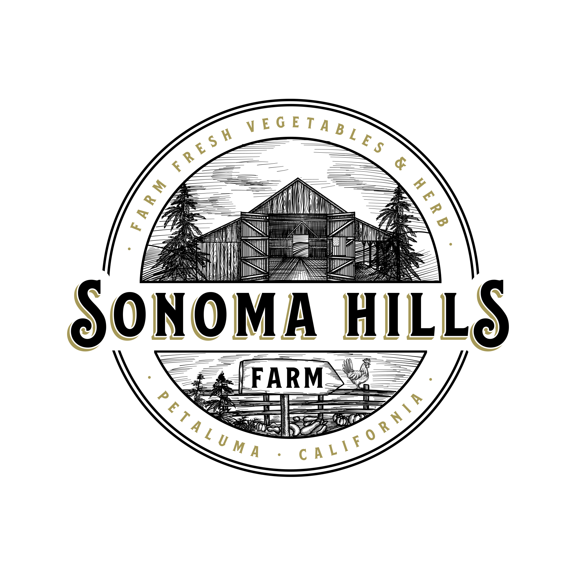 Sonoma Hills Farm Graphics Project