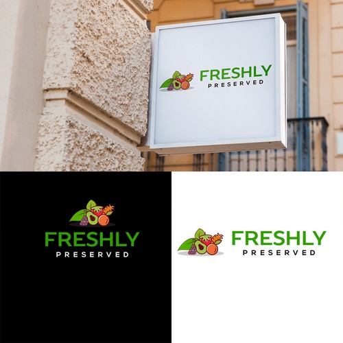 Fresh Fruit Billboard