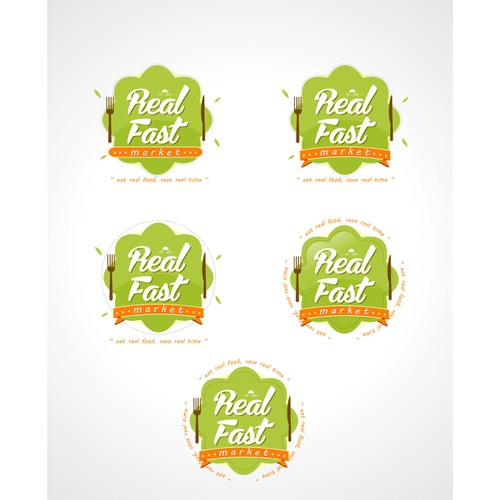 Make farm fresh food accessible by designing Real Fast Market's logo