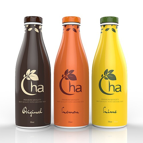New product label wanted for CHA Brand Thai Tea drink