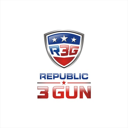 bold logo for Republic 3 Gun
