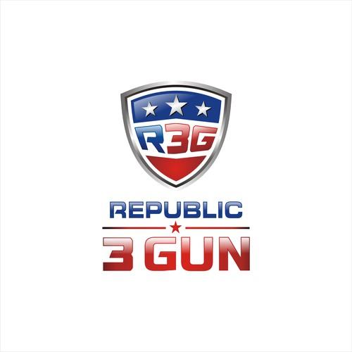 bold logo for Republic 3 Gun