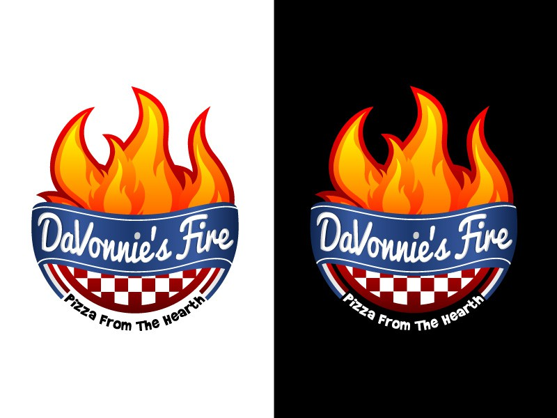 Create the next logo for DaVonnie's Fire