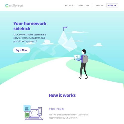 Website for Education Startup