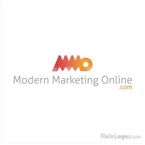 Modern Marketing Online Blog Logo - Will Be Huge!