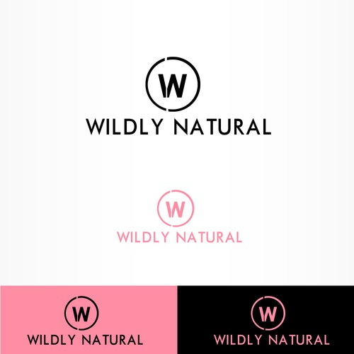 Create a trendy new logo for kickass cosmetics line, Wildly Natural