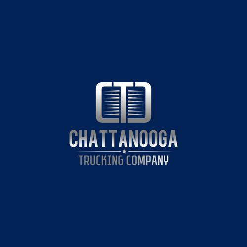 Logo for trucking company
