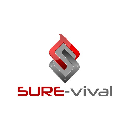 Help us create the new logo for the best survival brand SURE-vival!